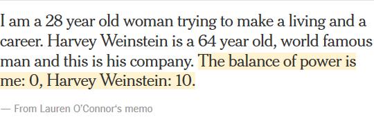 Вайнштейн: скандалы, интриги, социология